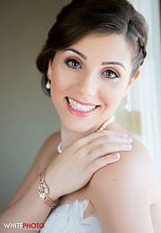 Daneille Mattis makeup artist. Work by makeup artist Daneille Mattis demonstrating Bridal Makeup.Bridal Makeup Photo #81820