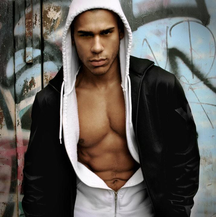 Daniel Norell model. Photoshoot of model Daniel Norell demonstrating Face Modeling.Face Modeling Photo #112576