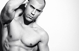 Daniel Norell model. Photoshoot of model Daniel Norell demonstrating Face Modeling.Face Modeling Photo #112578