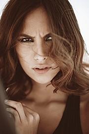 Daniela Chalbaud model. Photoshoot of model Daniela Chalbaud demonstrating Face Modeling.Face Modeling Photo #105294