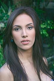 Daniela Chalbaud model. Photoshoot of model Daniela Chalbaud demonstrating Face Modeling.Face Modeling Photo #81988