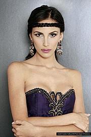 Daniela Chalbaud model. Photoshoot of model Daniela Chalbaud demonstrating Face Modeling.Face Modeling Photo #82025