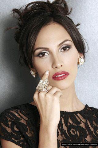 Daniela Chalbaud model. Photoshoot of model Daniela Chalbaud demonstrating Face Modeling.Face Modeling Photo #82006