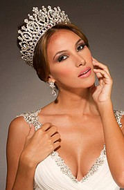 Daniela Xanadu Chalbaud is a model from Venezuela that wan the Miss Intercontinental 2012 title, being the fifth Venezuelan to reach the cro