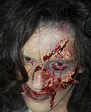 Daniela Zeneli makeup artist (grimiere). Work by makeup artist Daniela Zeneli demonstrating Creative Makeup.Horror Film SFXCreative Makeup Photo #190202