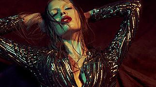 Daria Pershina model (Дарья Першина модель). Photoshoot of model Daria Pershina demonstrating Face Modeling.Face Modeling Photo #165781