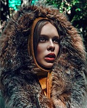Daria Pershina model (Дарья Першина модель). Photoshoot of model Daria Pershina demonstrating Face Modeling.Face Modeling Photo #165786