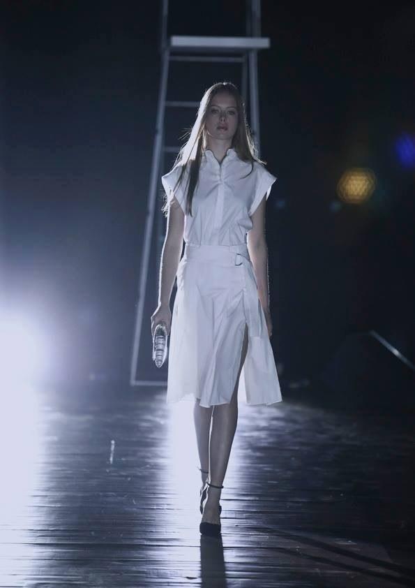 Daria Pershina model (Дарья Першина модель). Photoshoot of model Daria Pershina demonstrating Runway Modeling.Runway Modeling Photo #165817
