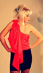 Dariana Solange model (модель). Photoshoot of model Dariana Solange demonstrating Fashion Modeling.Fashion Modeling Photo #74044