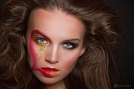 Darya Gritsyuk model (modell). Photoshoot of model Darya Gritsyuk demonstrating Face Modeling.Face Modeling Photo #84862