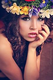 Darya Gritsyuk model (modell). Photoshoot of model Darya Gritsyuk demonstrating Face Modeling.Face Modeling Photo #84865