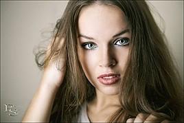 Darya Gritsyuk model (modell). Photoshoot of model Darya Gritsyuk demonstrating Face Modeling.Face Modeling Photo #84869