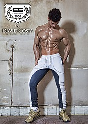 David Costa model (modèle). Photoshoot of model David Costa demonstrating Body Modeling.Body Modeling Photo #73252
