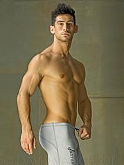 David Costa model (modèle). Photoshoot of model David Costa demonstrating Body Modeling.FitnessBody Modeling Photo #73261