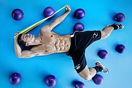 David Costa model (modèle). Photoshoot of model David Costa demonstrating Body Modeling.Body Modeling Photo #73260