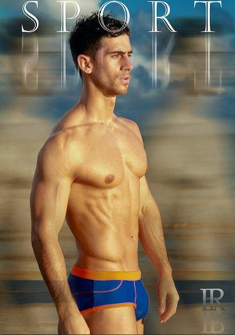 David Costa model (modèle). Photoshoot of model David Costa demonstrating Body Modeling.Body Modeling Photo #73265