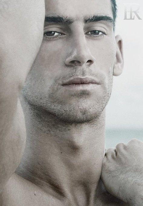 David Costa model (modèle). Photoshoot of model David Costa demonstrating Face Modeling.Face Modeling Photo #73266