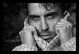 David Lerebourg model (modèle). Photoshoot of model David Lerebourg demonstrating Face Modeling.Face Modeling Photo #91573