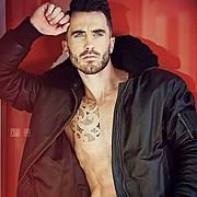 David Lerebourg model (modèle). Photoshoot of model David Lerebourg demonstrating Fashion Modeling.Fashion Modeling Photo #91580