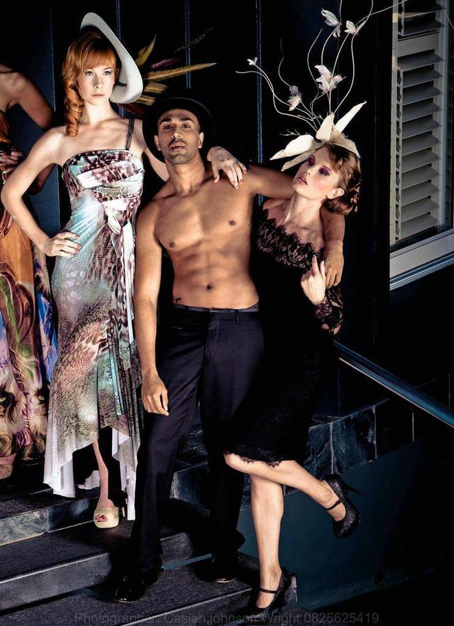 David Sharp makeup artist. Work by makeup artist David Sharp demonstrating Fashion Makeup.Fashion Makeup Photo #70504