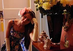 Demetra Diorietes model. Modeling work by model Demetra Diorietes. Photo #91300