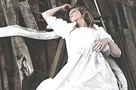 Demi Vesinger model. Photoshoot of model Demi Vesinger demonstrating Fashion Modeling.Fashion Modeling Photo #78416