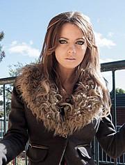 Demi Vesinger model. Photoshoot of model Demi Vesinger demonstrating Body Modeling.Body Modeling Photo #78404