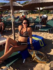 Despina Papachristou model (μοντέλο). Photoshoot of model Despina Papachristou demonstrating Body Modeling.Body Modeling Photo #204646