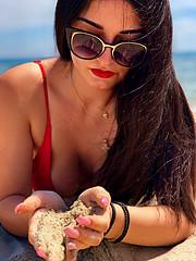 Despina Papachristou model (μοντέλο). Photoshoot of model Despina Papachristou demonstrating Fashion Modeling.Fashion Modeling Photo #204650