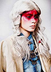 Diana Ionescu makeup artist (machior). Work by makeup artist Diana Ionescu demonstrating Creative Makeup.Creative Makeup Photo #87719