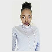 Diketso Sekonya model. Photoshoot of model Diketso Sekonya demonstrating Face Modeling.Face Modeling Photo #186675