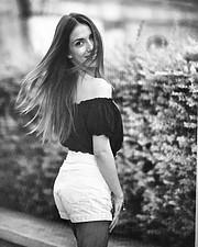 Dimitra Michala model (μοντέλο). Photoshoot of model Dimitra Michala demonstrating Fashion Modeling.Fashion Modeling Photo #189499
