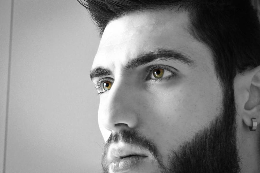 Dimitrios Iliadis Kipriotis model. Photoshoot of model Dimitrios Iliadis Kipriotis demonstrating Face Modeling.Face Modeling Photo #176553