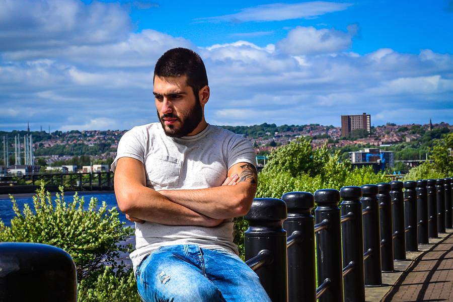 Dimitrios Iliadis Kipriotis model. Photoshoot of model Dimitrios Iliadis Kipriotis demonstrating Fashion Modeling.Fashion Modeling Photo #183189