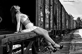 Dimitris Karavgoustis photographer (Δημήτρης Καραυγουστής φωτογράφος). Work by photographer Dimitris Karavgoustis demonstrating Fashion Photography in a photo-session with the model Thewna Stolichnaya.model: Thewna StolichnayaFashion Photography Ph