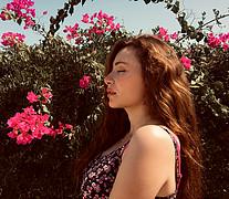 Dina Adel model. Photoshoot of model Dina Adel demonstrating Face Modeling.Face Modeling Photo #218099