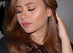 Dina Adel model. Photoshoot of model Dina Adel demonstrating Face Modeling.Face Modeling Photo #219515