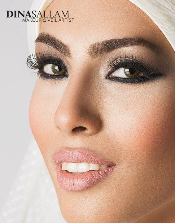 Dina Sallam Makeup Artist Veil Designer