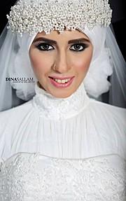 Dina Sallam makeup artist veil designer. Work by makeup artist Dina Sallam demonstrating Beauty Makeup.Beauty Makeup Photo #71083