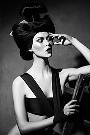 Diva Cam model (modèle). Photoshoot of model Diva Cam demonstrating Face Modeling.Face Modeling Photo #73292