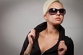 Dominika Fronckiewicz model. Photoshoot of model Dominika Fronckiewicz demonstrating Face Modeling.Face Modeling Photo #71504