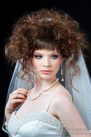 Dora Graff makeup artist. Work by makeup artist Dora Graff demonstrating Bridal Makeup.Bridal Makeup Photo #75831