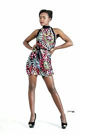 Doreen Keziah hair model. Photoshoot of model Doreen Keziah demonstrating Face Modeling.Face Modeling Photo #151753