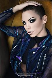 Dorka Banki model. Photoshoot of model Dorka Banki demonstrating Face Modeling.Face Modeling Photo #111815
