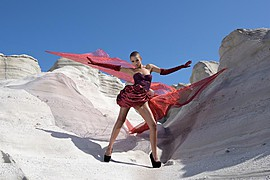 Dorka Banki model. Photoshoot of model Dorka Banki demonstrating Editorial Modeling.Editorial Modeling Photo #154091