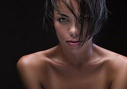 Dorka Banki model. Dorka Banki demonstrating Face Modeling, in a photoshoot by Hannes Walendy.photographer: Hannes WalendyFace Modeling Photo #187750