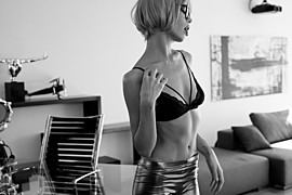 Dorka Banki model. Photoshoot of model Dorka Banki demonstrating Fashion Modeling.Fashion Modeling Photo #176525