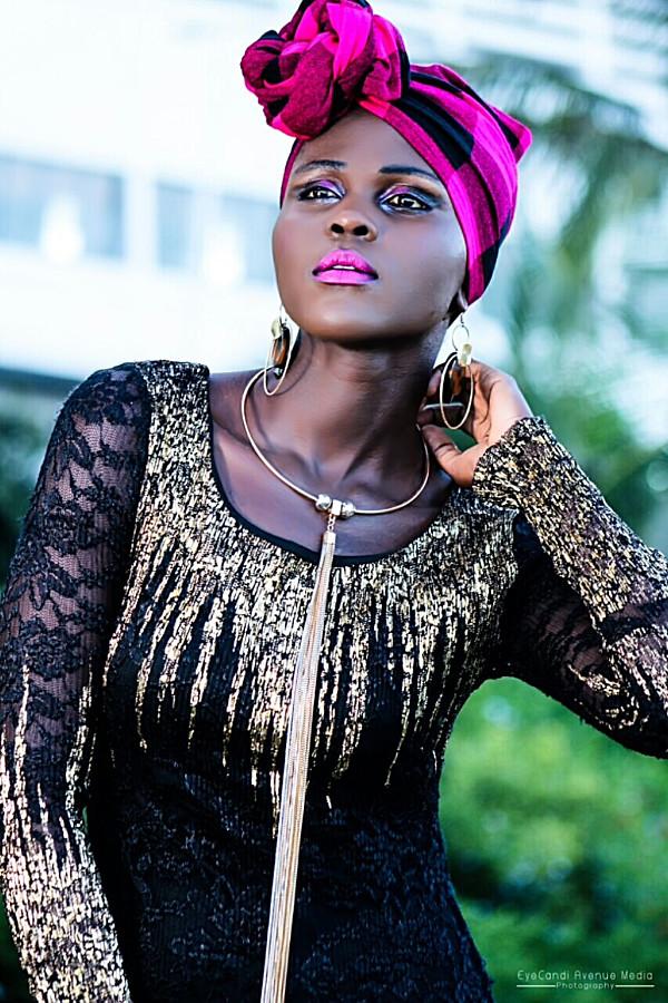Dorothy Akinyi Owino model. Photoshoot of model Dorothy Akinyi Owino demonstrating Fashion Modeling.Fashion Modeling Photo #211129
