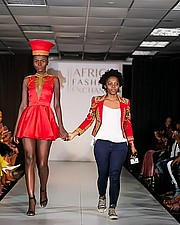 Dorothy Akinyi Owino model. Photoshoot of model Dorothy Akinyi Owino demonstrating Runway Modeling.Runway Modeling Photo #211241