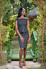 Doublyn Awuor is a Kenyan female Model and a Designer, currently based in Kisumu Nyanza.Started modeling in Highschool,her modeling experien
